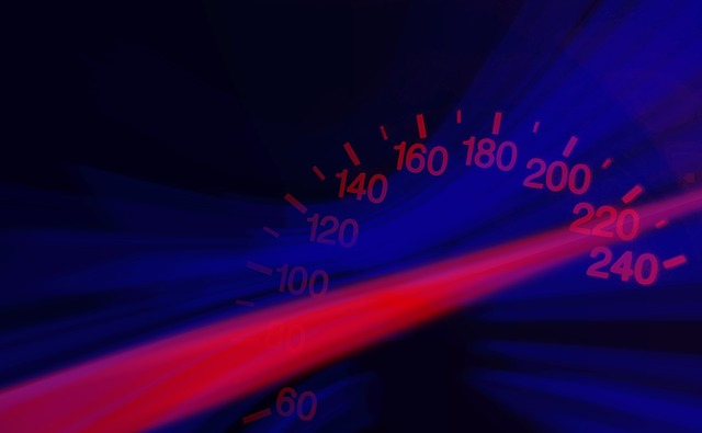 speedometer over the limit